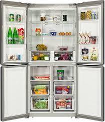 <b>Многокамерный холодильник Hiberg RFQ-490</b> DX NFXd купить в ...