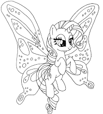 Rarity Pony Kleurplaat Coloring My Little Pony Coloring Horse