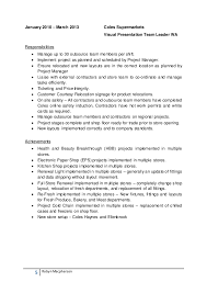 Breathtaking Coles Online Resume 35 With Additional Professional Resume  Examples with Coles Online Resume