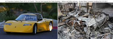ac electric car motor. Tzero (Tesla Roadster Predecessor) And Tesla Lost In A Fire Caused By An Experimental Repair On Bricked (Image Credit: Peter Gruber Via Ac Electric Car Motor