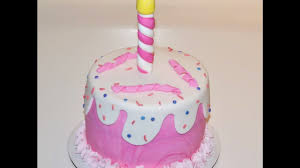 Cake Decorating Tutorials How To Make A Simple Fondant Cake