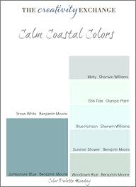 office color palette. Amazing Calm Coastal Paint Colors Color Palette Elegant Office Calming