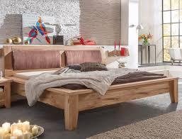 Schlafzimmer Asteiche geölt Bett 180x200 Nako Wandboard ...