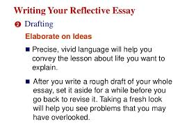 gr reflective essay 10 writing your reflective essay