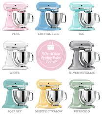 kitchenaid mixer pistachio. kitchenaid stand mixers in pastels. crystal blue, pink, majestic yellow, aqua sky, ice and pistachio. mixer pistachio