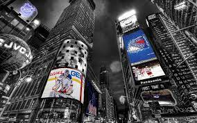 Times Square New York Rangers Desktop ...