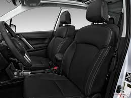 2017 subaru forester front seat