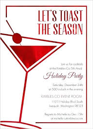 Office Holiday Party Invitation Wording Ideas From Modern Faux Red ...