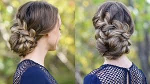 Great Braided Updo Hairstyles For Girls Hairstyles Braids Promhomecoming