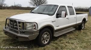 2005 Ford F350 Cab Lights 2005 Ford F350 Super Duty King Ranch Crew Cab Pickup Truck