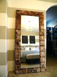diy wood mirror frame. Charming Mirror Frame Ideas 5 Things To Do With Tin Ceiling  Tiles Wood Diy
