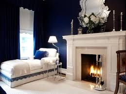 Navy Blue Bedroom Decor Colors Boys Bedroom Decor Idea With Square Silver Modern Wood