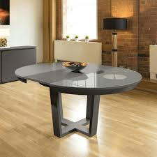 oak glass dining table large round extending dining table grey oak glass top oak and glass dining table sets