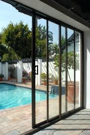 triple sliding glass patio doors installation