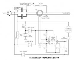 gfi ground fault interrupter wall wart basic circuit circuit gfi ground fault interrupter wall wart
