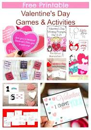Valentine Day Printable Activities Free Printable Valentines Day ...