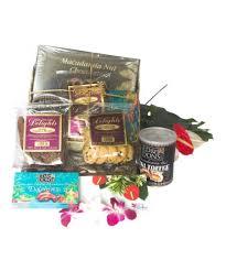 hawaiian chocolates gifts basket