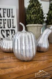 you don t need to start with a glass pumpkin to make faux mercury glass