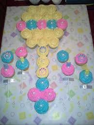 Baby Shower Rattle Cupcakes  Baby Shower  PinterestPull Apart Baby Shower Cupcakes