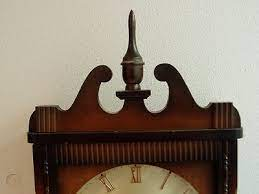 vtg linden 31 day wall clock parts or