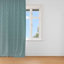 Schöner Leben Vorhang Vorhangschal Mit Smok Schlaufenband Dreiecke Dunkelmint Weiß 245cm Oder Wunschlänge