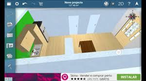como criar um design de casa simples com o apk home design 3d