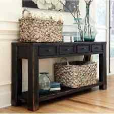 Interesting Console Sofa Table With Storage Tables For Entryway Behind To Simple Ideas