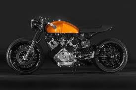 yamaha xv750 cafe racer bike exif