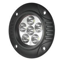 totron  circular led fog light flush mount  tfm