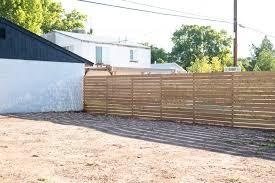 Horizontal Slatted Fence My FAVORITE DIY App Vintage Revivals