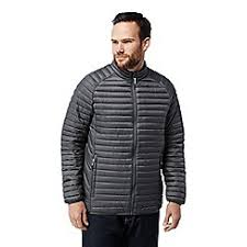 Craghoppers - Quilted jackets - Men | Debenhams & Craghoppers - Grey 'Venta' lite insulating jacket Adamdwight.com
