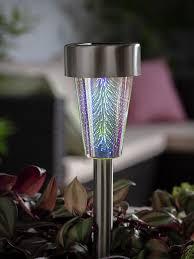 <b>Solar garden lights</b> | Outdoor solar lighting | Argos