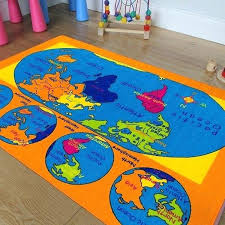 vintage world map area rug old rugs kids ocean furniture agreeable bright colorful vibrant colors