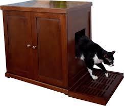 meow town mdf litter box. Refined Feline Litter Box - B000YSNQ0Y Meow Town Mdf L