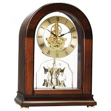 london clock company arch top wood