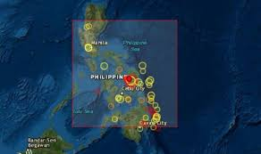 An earthquake of magnitude 6.4 was reported near manila, philippines on tuesday morning, according to india's national center for seismology. Philippines Earthquake Gigantic 6 8 Quake Rocks Samar Province Tsunami Update Issued World News Express Co Uk
