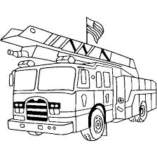 Camion Dei Pompieri Disegno Da Stampare Disegni Da Colorare E