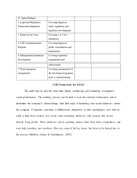 corporate social responsibility essay example csr