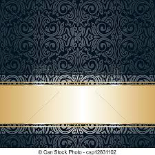 vintage wallpaper. Plain Vintage Black U0026 Gold Vintage Wallpaper With Vintage Wallpaper K