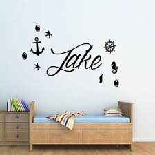 image is loading personalised nautical anchor ships wheel pirate wall art