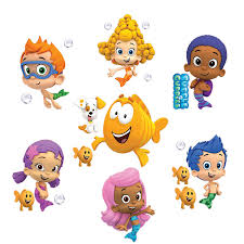 >bubble guppies set of 8 removable wall stickers 10 inch bubble  bubble guppies set of 8 removable wall stickers 10 inch bubble guppies other products amazon