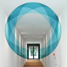 Truly Design Abstract Anamorphic Circle By Truly Design I Support