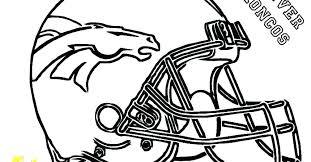 Printable Coloring Pages Denver Broncos Coloring Games Movie