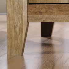 sauder dakota pass modern farmhouse end table craftsman oak finish com