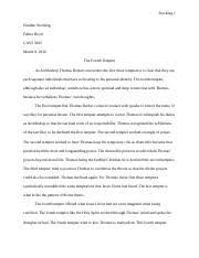 tv show analysis essay tv show analysis essay that s show 2 pages