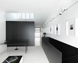 5603 black and white home office design photos black and white office design