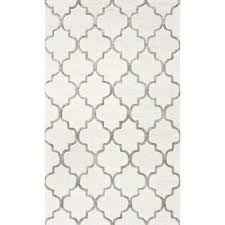 beige and white area rug impressive remarkable nuloom rugs the home depot decorating ideas 7