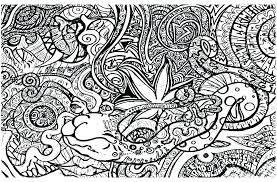 Coloring Pages Weed Coloring Pages For Page Black Hole Psychedelic