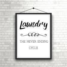 printable funny laundry room art