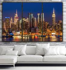 canvas wall art new york city